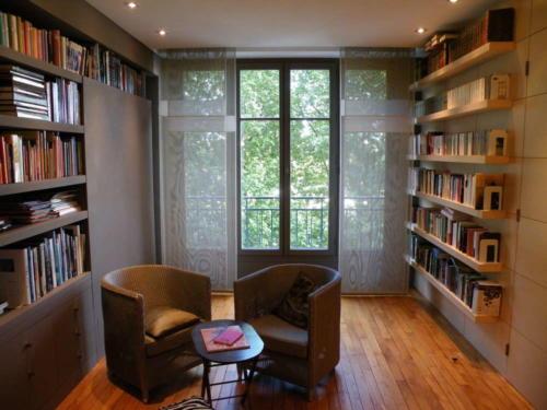 Bibliothèque et agencement
