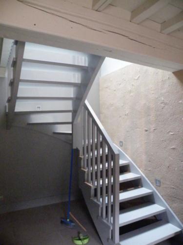 Escalier crémaillère