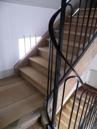 Restauration d'escalier